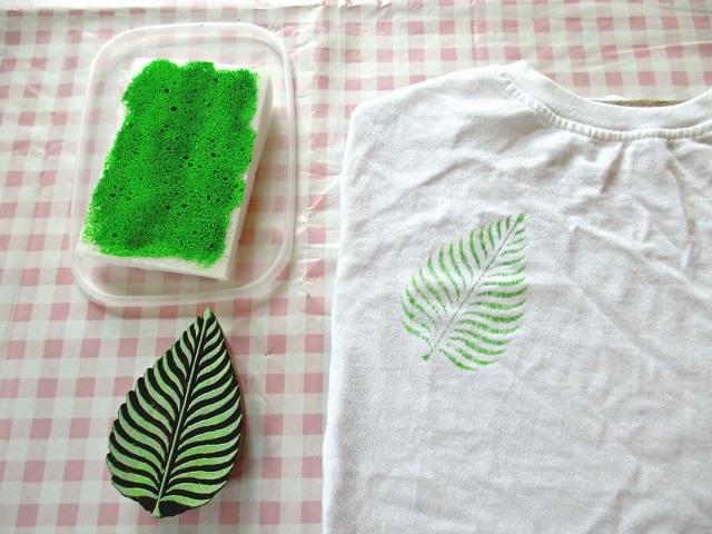 Personalizar camiseta con pintura textil